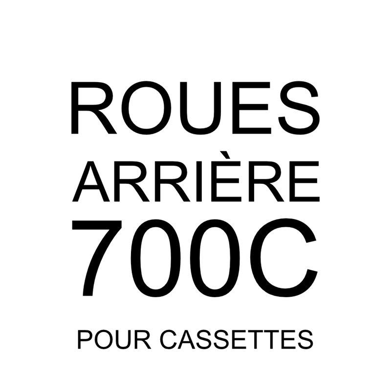 700 arrière cassette