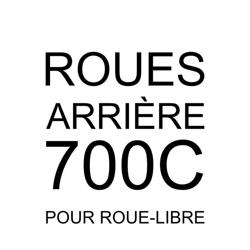 700 arrière roue libre
